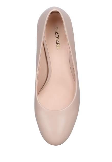 Туфли женские T.Taccardi 710019010 бежевые 36 RU