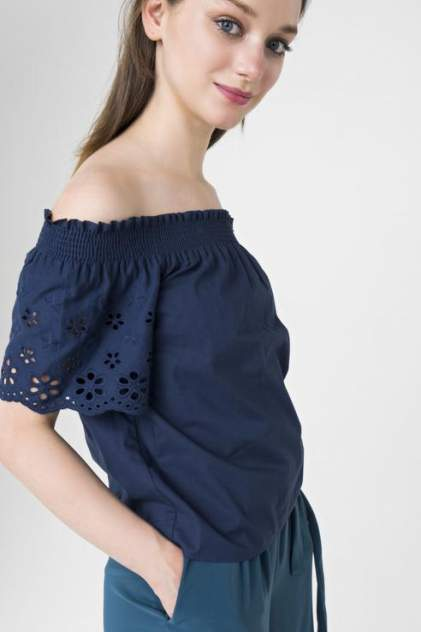 Блуза женская ZARINA 8225090320040 синяя 42 RU