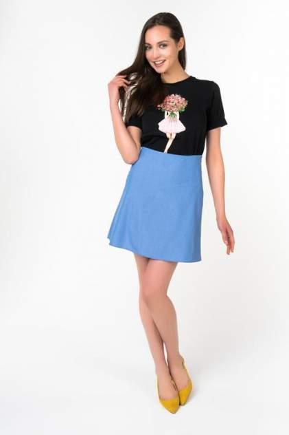 Юбка женская Fashion.Love.Story. 17SS6030LBLJN голубая 48 RU