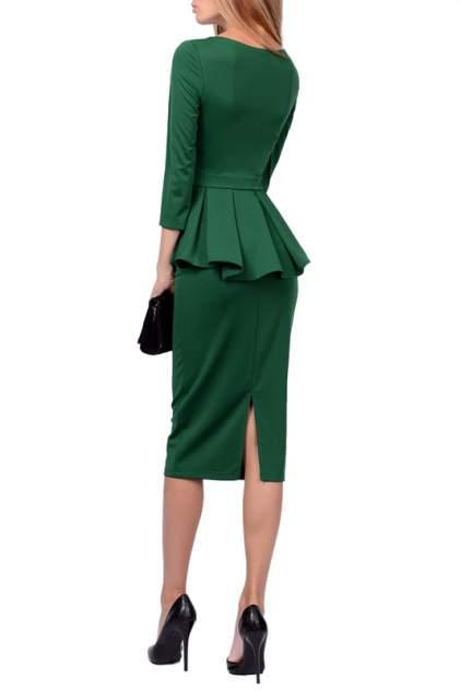 Платье женское FRANCESCA LUCINI F0722-5 зеленое 46 RU