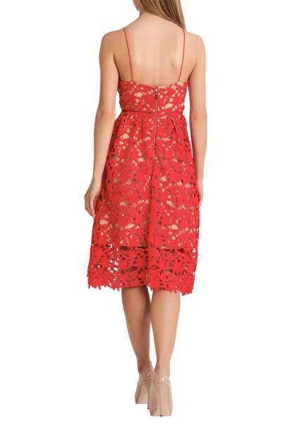 Платье женское Apart 45512 красное 32 DE