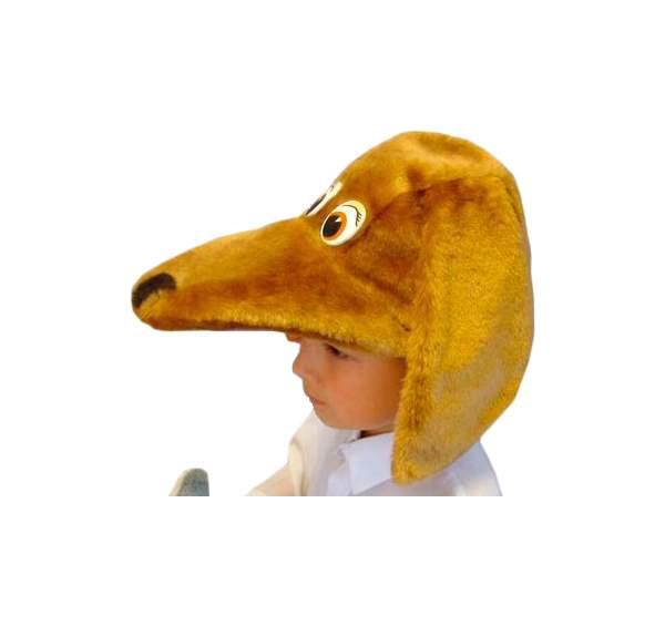 Карнавальная шапка Бока Такса, 54-56 см 1244