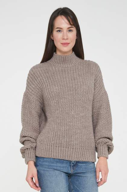 Джемпер женский VAY 192-4011 коричневый 52 RU