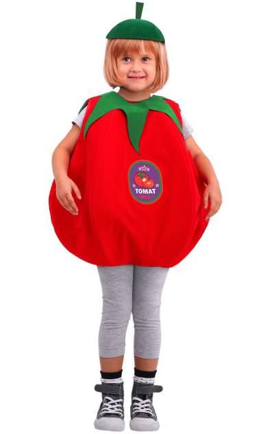 Карнавальный костюм Батик Овощ, цв. красный р.110