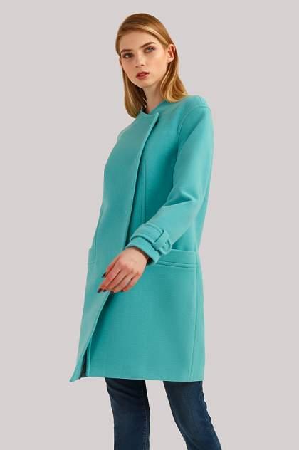 Женское пальто Finn Flare B19-11089, зеленый