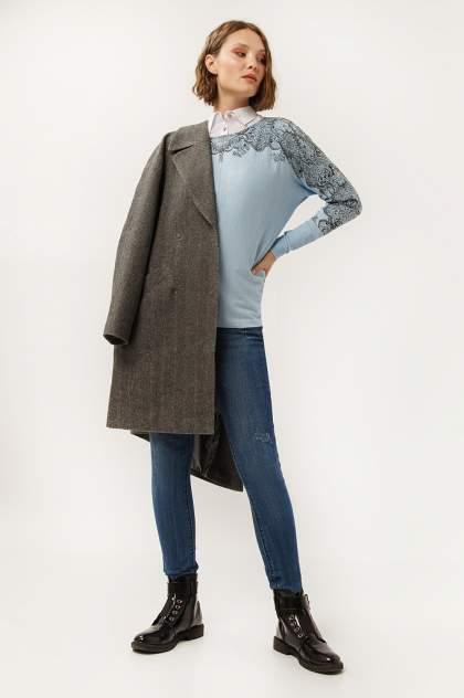 Женское пальто Finn Flare A19-11001, серый