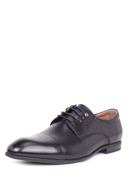 Туфли мужские Pierre Cardin 03406240 черные 43 RU
