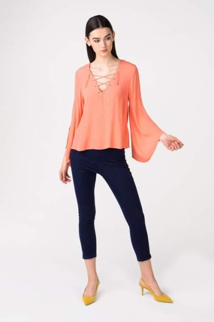 Блуза женская Broadway 10158737 оранжевая L
