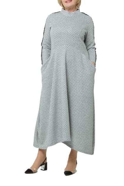 Платье женское KATA BINSKA ALIN 190832 серое 48-50 EU