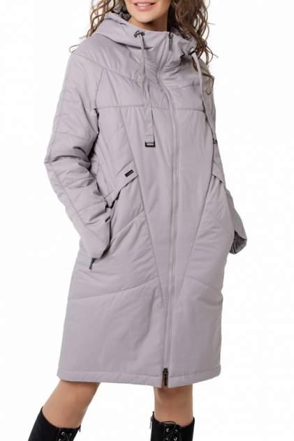 Пуховик-пальто женский DizzyWay 20107 фиолетовый 62 RU