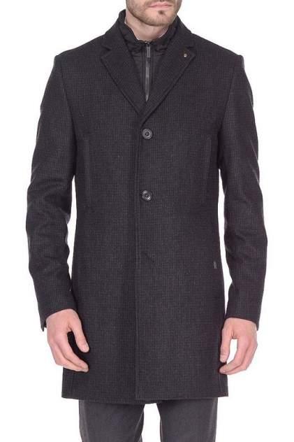 Мужское пальто BAZIONI 5046-4M GRAVEL BLACK GREY, серый