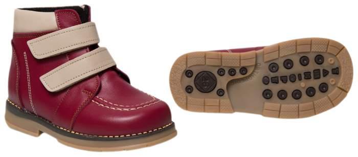 Ботинки детские Таши Орто, цв.бордовый р.29