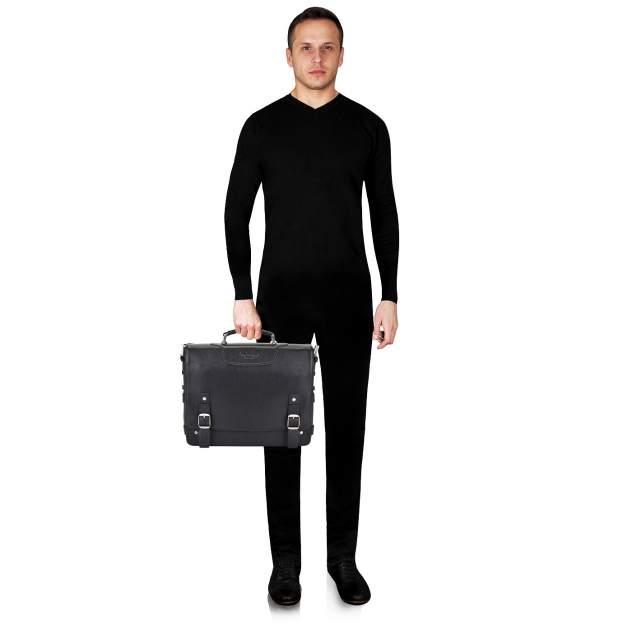 Портфель мужской кожаный Dr. Koffer B402297-02-04 черный