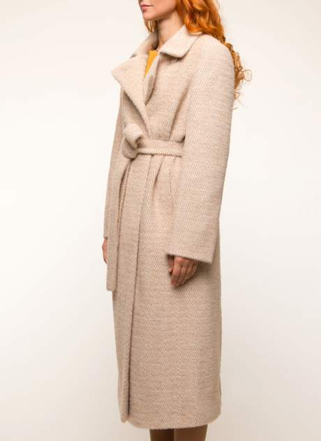 Пальто женское Каляев К-19-79 бежевое 42 RU