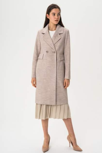 Пальто женское ElectraStyle 4-9009-306 коричневое 50 RU