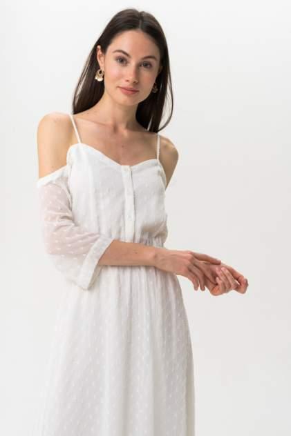 Платье женское ICHI 20109204 белое M
