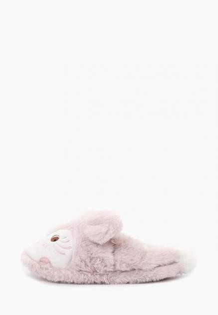 Домашние тапочки женские Halluci Лисички розовые 38-39 RU