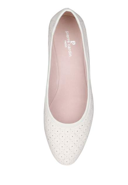 Туфли женские Pierre Cardin 27306520 белые 36 RU