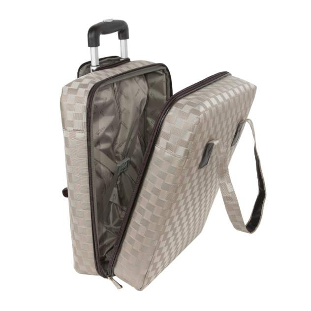 Дорожная сумка Polar П7087 золотая 31 x 38 x 12