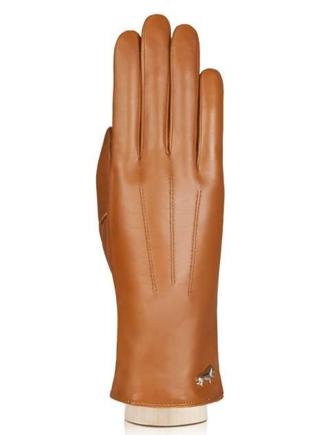 Перчатки женские Labbra LB-4607 коричневые 7.5
