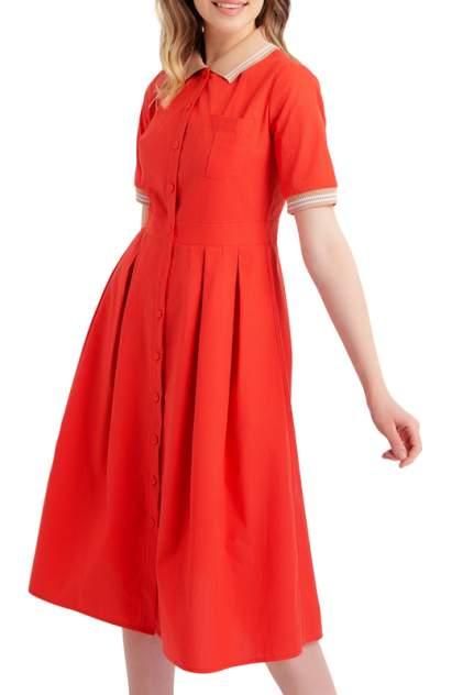 Платье женское BGN S19D075 красное 38 FR