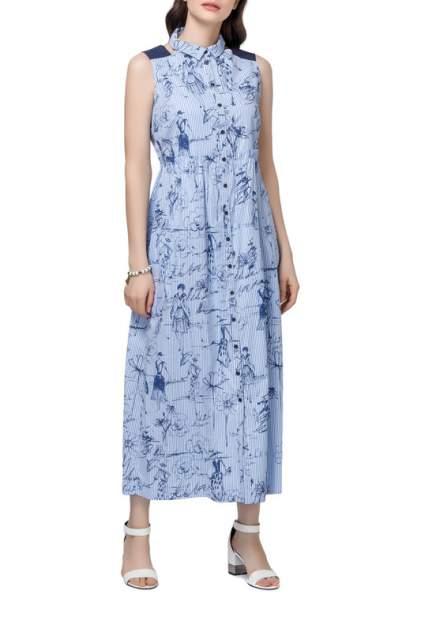 Платье женское Helmidge 6963 голубое 24 UK