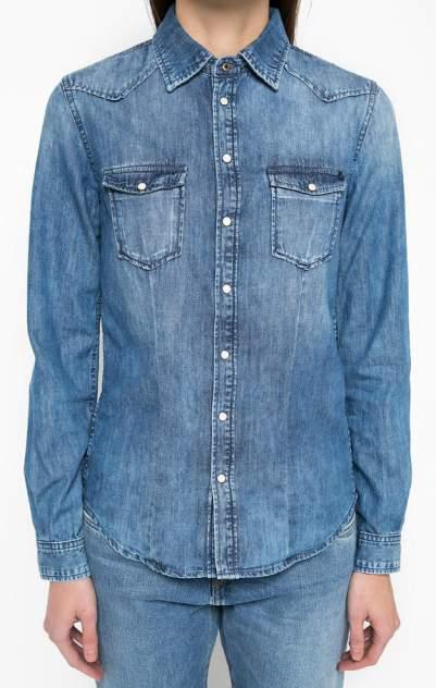 Женская джинсовая рубашка Pepe Jeans PL300999N70.000, синий