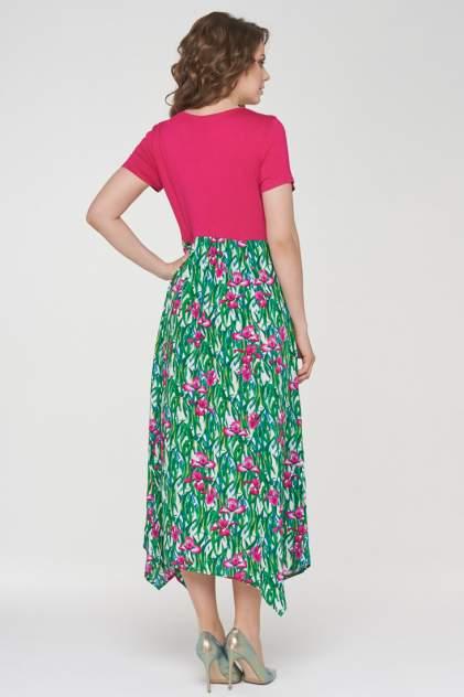 Платье женское VAY 191-3482 розовое 52 RU