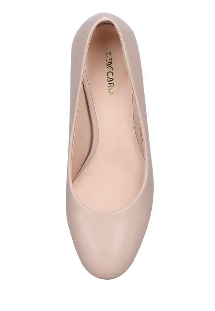 Туфли женские T.Taccardi 710019010 бежевые 38 RU