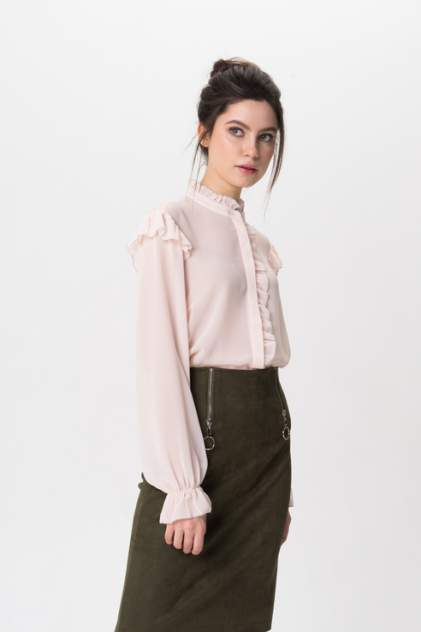 Блуза женская Y.A.S 26012452 розовая S