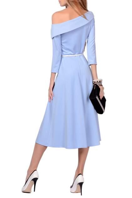 Платье женское FRANCESCA LUCINI F0724-10 голубое 46 RU