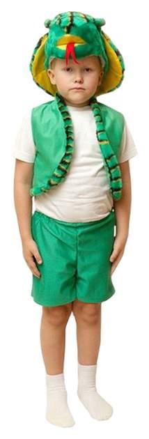 Карнавальный костюм Бока Змея, цв. зеленый р.104