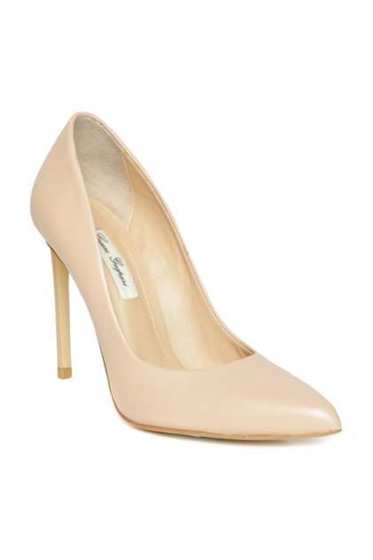 Туфли женские CESARE GASPARI 001-9695 бежевые 36 RU