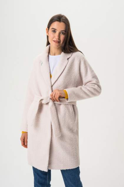 Женское пальто ElectraStyle 3-7038-268, бежевый
