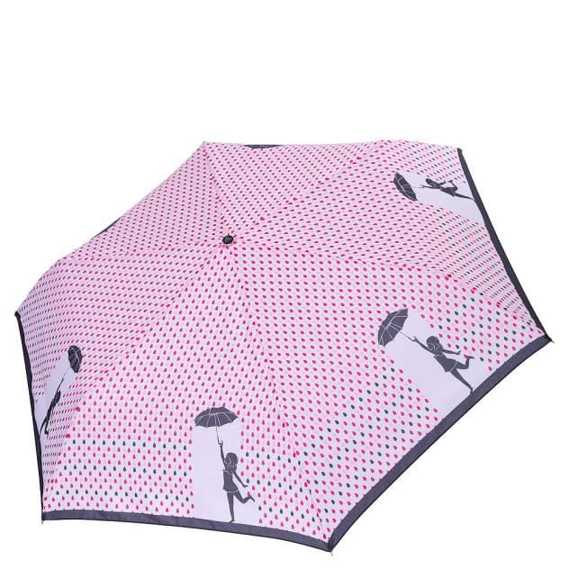 Зонт складной женский механический FABRETTI MX-18100-11 розовый