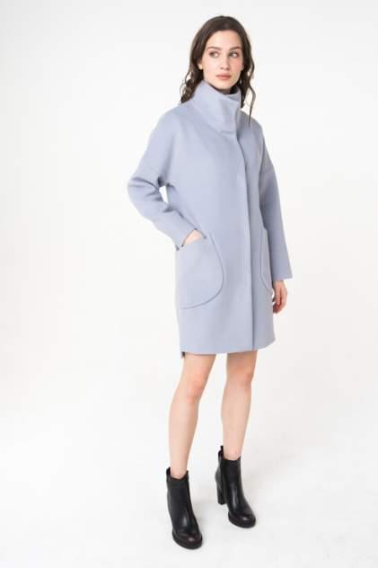 Пальто женское ElectraStyle 3-7007/10-128 голубое 40 RU