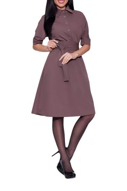 Платье женское EMANSIPE 2010131 коричневое 42 RU