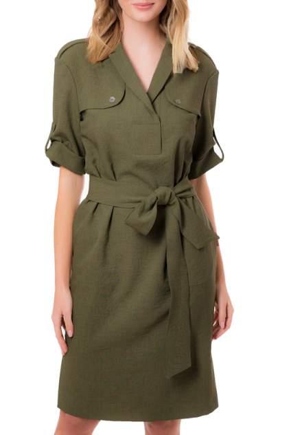 Платье женское Argent VLD905627 зеленое 54 RU