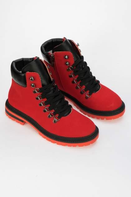 Ботинки женские Keddo 898801/10 красные 37 RU