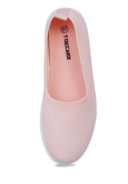 Кеды женские T.Taccardi 710017685 розовые 37 RU