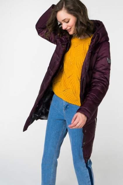 Пуховик-пальто женский ElectraStyle 3У-6031/3-258 бордовый 44 RU
