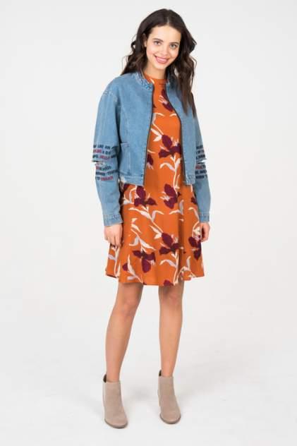 Джинсовая куртка женская Noisy may 27005690 синий L