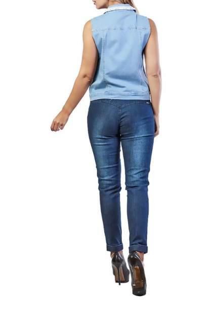 Жилет женский LAFEI-NIER AI77765-SE голубой 2XL