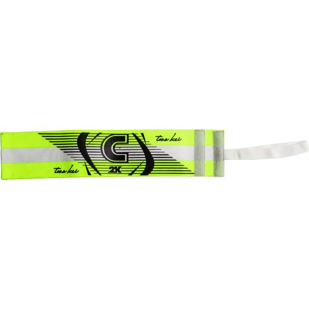 Капитанская повязка 2K Sport Captain neon/lemon/black