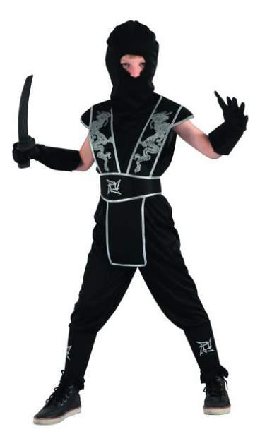 Карнавальный костюм Snowmen Ниндзя, цв. черный р.140