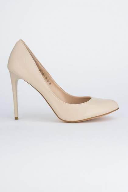 Туфли женские Velvet 376-03-IG-15-PP бежевые 36 RU