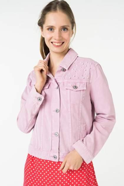 Джинсовая куртка женская ZARINA 8224444644097 розовая 44 RU