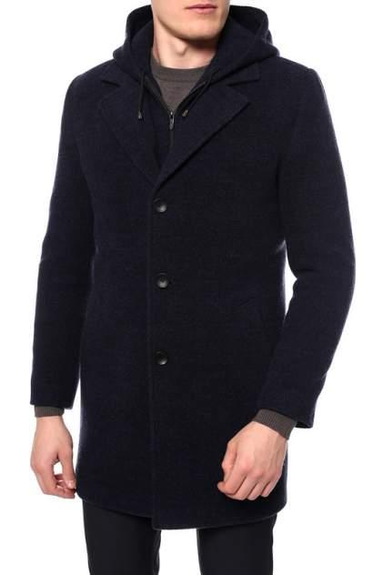 Мужское пальто Caravan Wool МОРЕНГО, синий