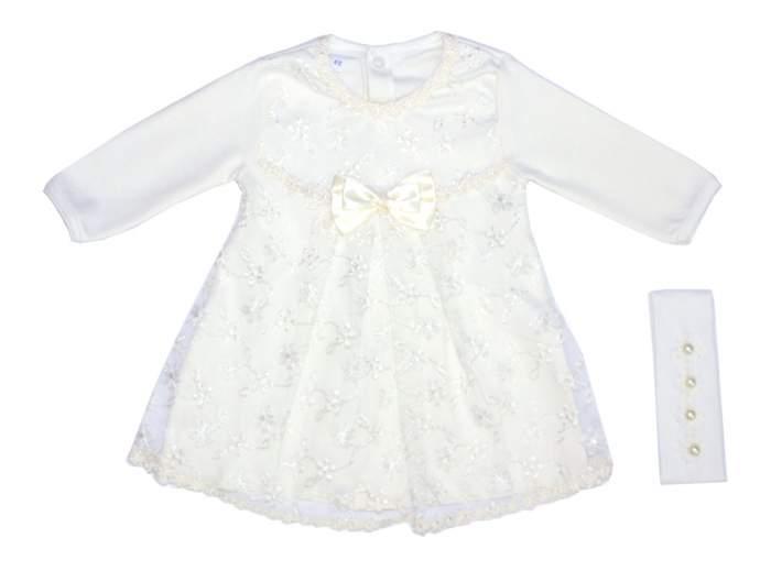 Платье детское Осьминожка, цв.белый
