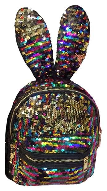 Рюкзак женский Lemon Tree Ушки зайца 6,9 л разноцветный